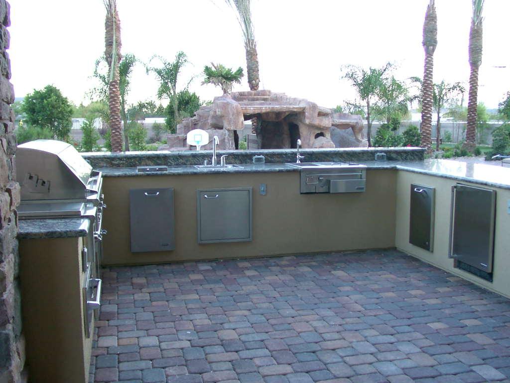 Custom Outdoor Kitchen Design by Nevada Outdoor Living Las Vegas
