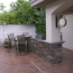 Integrated Custom Outdoor Kitchen