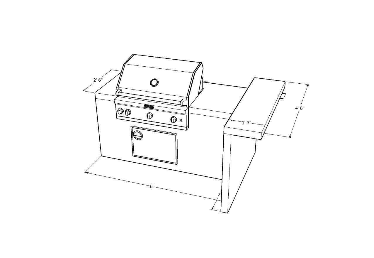 Outdoor Kitchen Designs Idea\'s - Las Vegas Outdoor Kitchen Designs