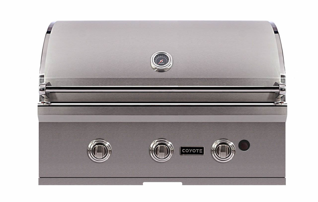 Coyote 34 c series barbecue grill las vegas outdoor kitchen for Coyote outdoor grills reviews