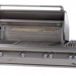 Alfresco 56 Inch Jumbo LX2 Barbecue Grill With Sideburner