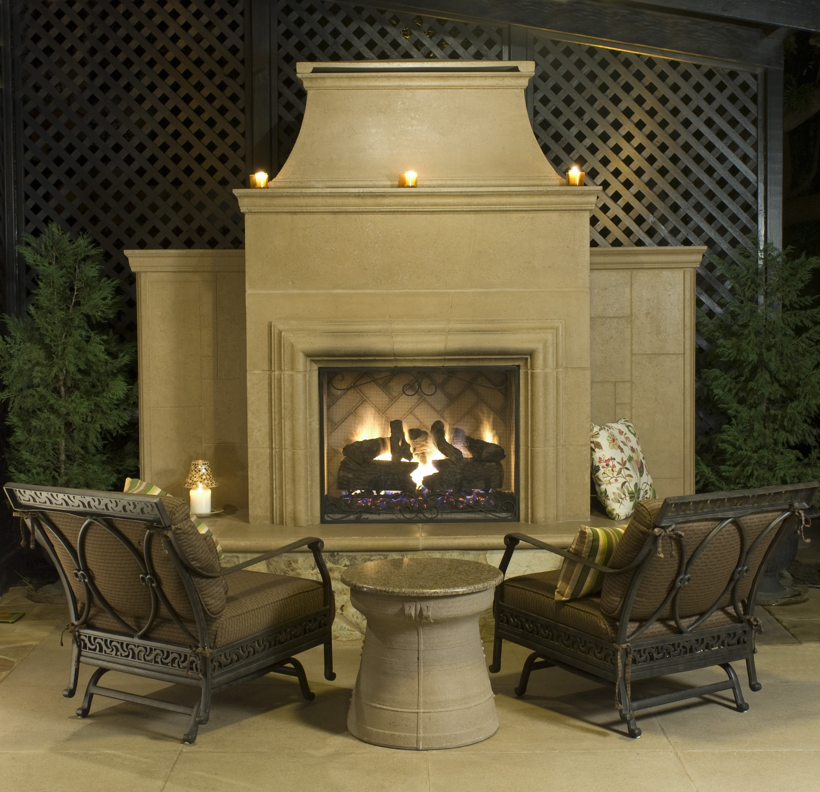 Outdoor Fire Pits Outdoor Fireplaces And Fire Features