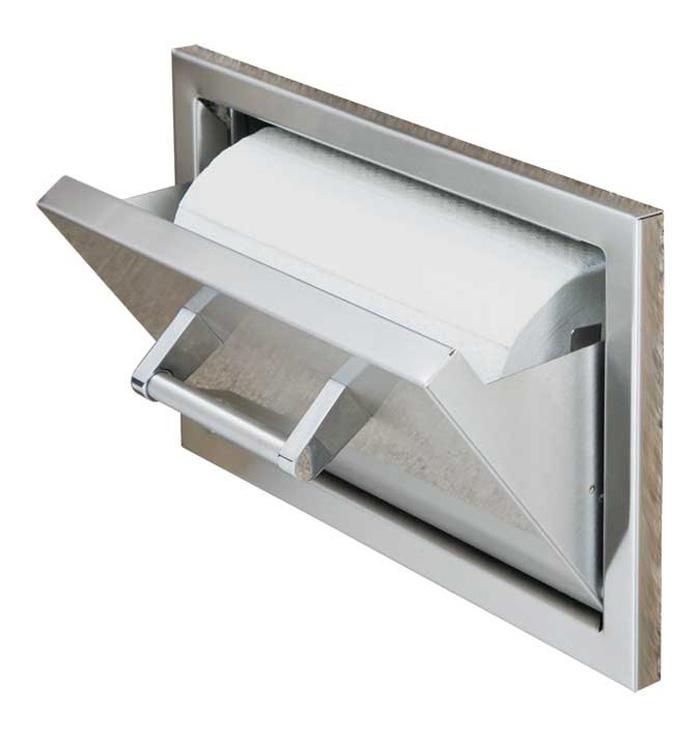 Paper towel holder las vegas outdoor kitchen for Outdoor towel caddy