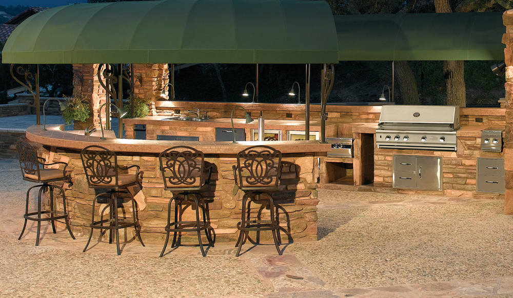 Custom Barbecue Islands And Outdoor Kitchens Las Vegas Outdoor Kitchen