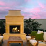 Nevada Outdoor Living Outdoor Fireplaces: Corona Series Outdoor Fireplace