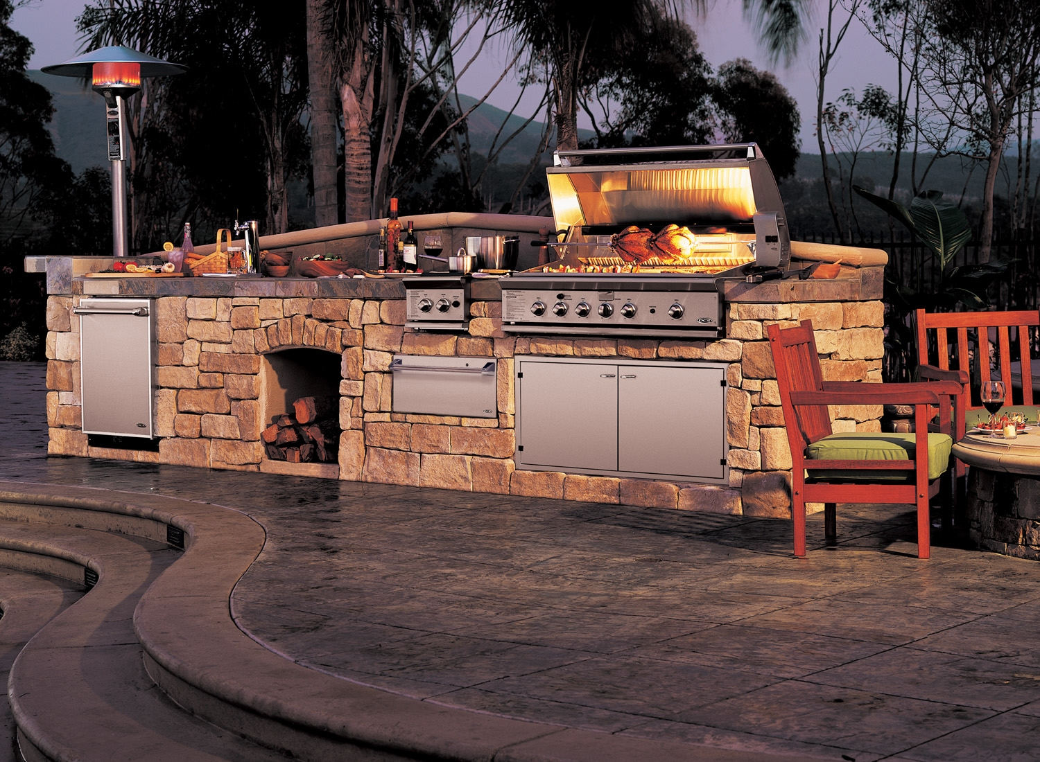 dcs barbecue grills las vegas outdoor kitchen