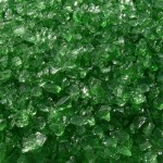 Crystal Green Fire Glass Sold at Nevada Outdoor Living
