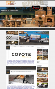 Nevada Outdoor Living Gets a New Online Look LV Outdoor Kitchen
