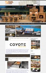 Nevada Outdoor Living's Brand New Website